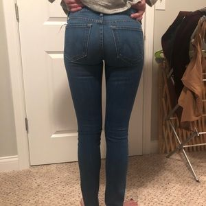 Barely worn mother skinny jeans!